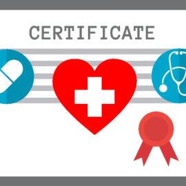 Certifikáty ve zdravotnictví